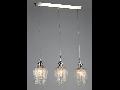 Lampa suspendata Fusion Blues,3 x E14,D.700,cm,H.1000 cm,Nichel