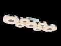Plafoniera Modern Coral,LED 33 W, 230V,L.65x22cm, H.7 cm,Crom