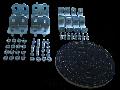 Set pentru asocierea dulapurilor de distribuţie modulare