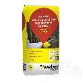Adeziv pentru polistiren expandat si grafitat - Weber P39 Max