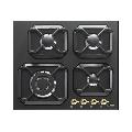 Plita incorporabila Lofra Dolcevita HRNM6G0, 60 cm, plita gaz, 4 arzatoare,sistem siguranta Stop-Gaz, negru mat