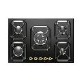 Plita incorporabila Lofra Dolcevita HRNM7A0, 75 cm, plita gaz, 5 arzatoare,sistem siguranta Stop-Gaz, negru mat