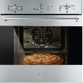 Cuptor incorporabil Smeg Classica  SF6381XPZ, electric, multifunctional, 60cm, functie pizza, inox antiamprenta
