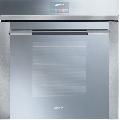 Cuptor incorporabil Smeg Linea  SFP140E, electric, multifunctional, 60 cm, inox / sticla argintie, piroliza