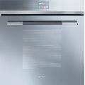 Cuptor incorporabil Smeg Linea  SFP140SE, electric, multifunctional, 60 cm,  sticla argintie, piroliza