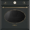 Cuptor incorporabil Smeg Coloniale SF855AO, electric, multifunctional, 60cm, negru antracit
