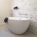 Panel Marmura Pure White 15 x 60 cm