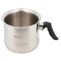 Oala pentru lapte Kinghoff, capacitate 2.0 litri, diametru 16 cm, inox
