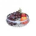 Cos metalic decorativ pentru fructe Kinghoff, diametru 25 cm