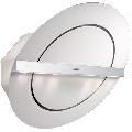 Hota design Baraldi Zen 01ZEN80WW70, 80 cm, 700 m3/h, sticla alba/inox