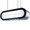 Hota design suspendata Baraldi Alexa 01ALXIS090ST70, 90 cm, 700 m3/h, sticla/inox
