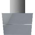 Hota decorativa Smeg Linea KCV60SGE, 60 cm, 690 m3/h, sticla argintie/inox