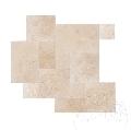 Travertin Classic Cross Cut French Pattern Set Periat 1.2 cm