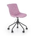 Scaun birou copii HM Doblo roz
