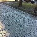 Piatra Cubica Granit Antracit Fatetata 4 laterale 10 x 10 x 5 cm