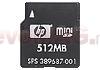 HP - Card miniSD 512Mb