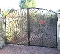Porti si garduri din fier forjat AMPRENTAT