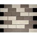 Mozaic dreptunghiular tesut Ravena 4x8 cm
