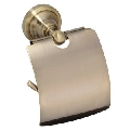 Suport hartie WC cu protectie, colectia Retro, bronz
