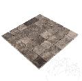 Mozaic Marmura Dark Emperador Polisat 4.8 x 4.8cm - Lichidare stoc