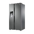 Combina frigorifica Side by Side Haier HRF-636IM7, 540 l, Total No Frost, clasa A++, Inox