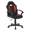 Scaun birou SL Q101 negru - rosu