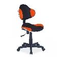 Scaun birou copii mesh SL QG2 portocaliu - negru