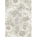 Tapet floral gri argintiu Romantic Z2917