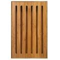 Tocator pentru paine din bambus KingHoff KH-1217, lungime 37 cm, material bambus, forma dreptunghiulara