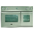 Cuptor incorporabil ILVE Window D900WE3, 90cm, cuptor dublu, grill electric, inox