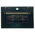 Cuptor incorporabil ILVE Nostalgie 900NCVG, 90cm, cuptor gaz, grill electric, negru mat