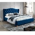 Pat SL Aspen Velvet 160x200 albastru