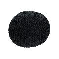 Taburet tricotat bumbac negru GL GOBI TIPUL 1