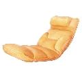 Fotoliu relaxant material textil portocaliu GL LOTA