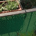 Plasa protectie Quadra 05 verde Tenax 1x30 m