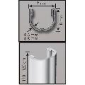 Stalp Tutore metalic cu grosime 0.6mm pentru sustinere butasi vita de vie Metalwork h 1200mm