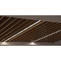 Tavan suspendat metalic tip lamele Baffle 30 H64 0.5 silver