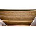 Tavan suspendat metalic tip lamele Baffle 30 H64 otel 0.5 alb