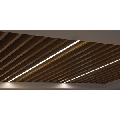 Tavan suspendat metalic tip lamele Baffle 50 H100 0.7 alb