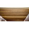 Tavan suspendat metalic tip lamele Baffle 50 H100 otel 0.7 alb