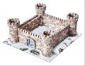 Kit constructie caramizi Wise Elk Castelul Cuib de Vulturi 870 piese reutilizabile