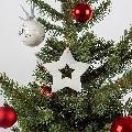 Decor Craciun - Snowflake Marmura Thassos SET (6  buc)