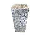 Bolarzi Granit Leopard White 20 x 25 x 75 cm (fetele taiate + top/laterale bizot 2cm)