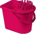 Galeata cu storcator 12L rosu Cubo