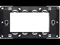 Placa suport  3  module   Thea Optima