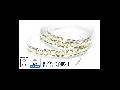 Banda LED - 204 LED-uri/m, alb rece, non-rezistent la apa, 18W/12V