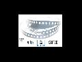 Banda LED - 120 LED-uri/m, alb cald, non-rezistent la apa, 18W/12V