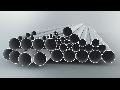 Tub metalic din aluminiu pentru cabluri electrice,D.ext.25mm
