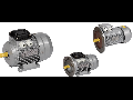 Motor electric trifazic asincron AIR 56B4 380V 0,18KW 1500r./min. 1081