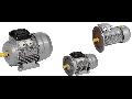 Motor electric trifazic asincron AIR 63B2 380V 0,55KW 3000r./min. 1081